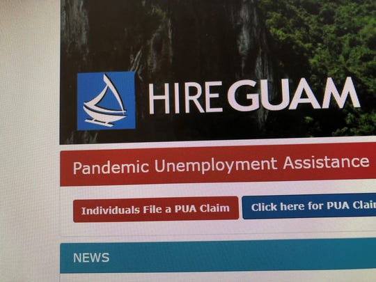 The hireguam.com website now has portal for residents to apply for federal pandemic unemployment benefits.