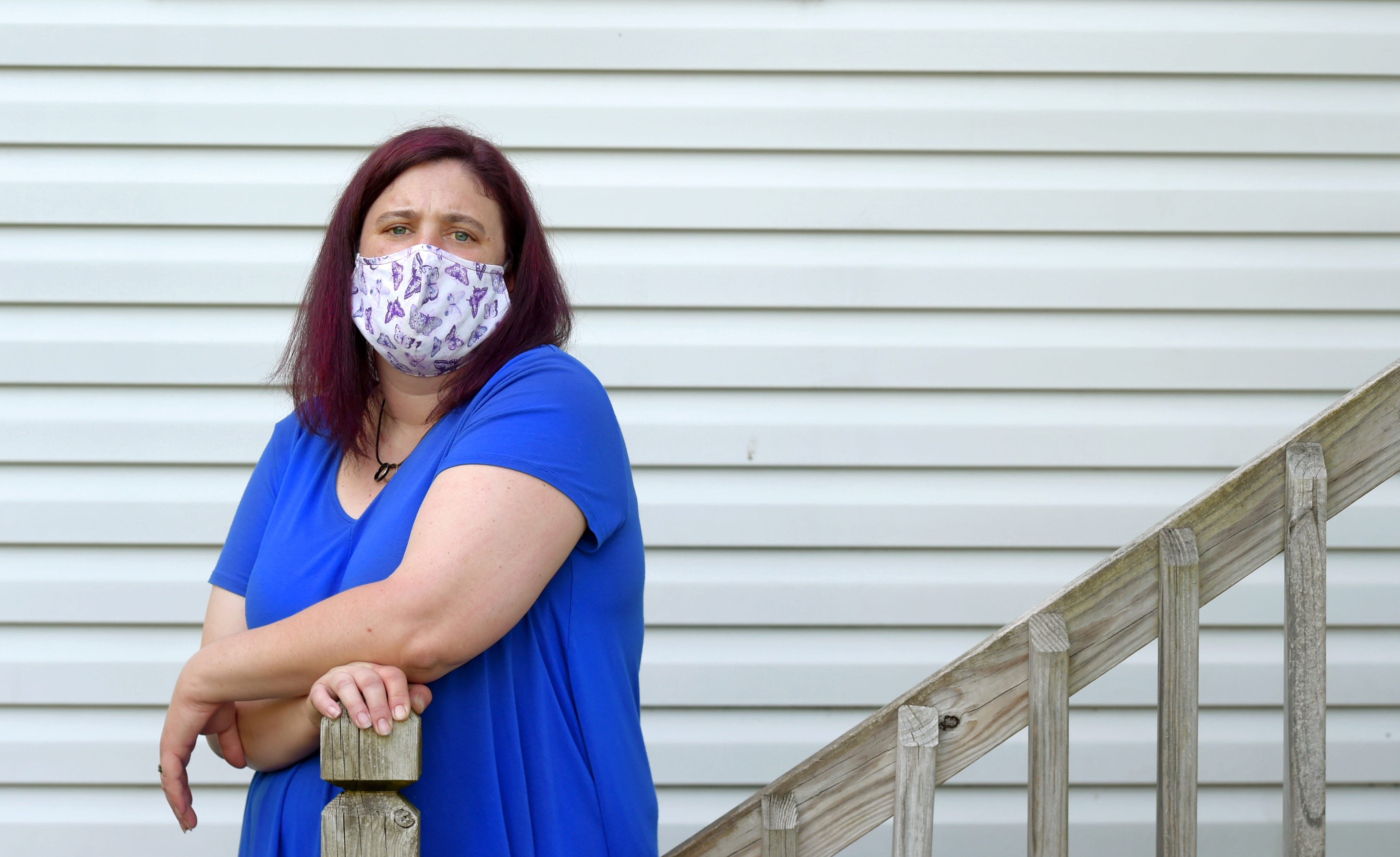 Heather Picker, 38, Johnson City works at a construction company and is the primary earner for her wife and their two children. Due to Covid-19, Picker's hours and pay were significantly reduced:  20 hours working followed by a 20-hour furlough, with a net pay of $100. While Picker qualified for unemployment, she encountered difficulties in applying. ÒIÕm never going to see this money. ThatÕs the mental preparation IÕm giving myself,Ó she said. ÒIf I do see it, it will be a pleasant surprise.Ó