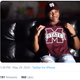 In this screenshot of a video, Knisha Godfrey gives a commitment to the Mississippi State women's basketball program.