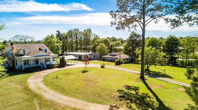 About 3,300 square feet of room to live freely on the inside of a This home on Chapman Road in Millbrook has 3,300-square-feet of living space on four acres of land. are matched by four acres of land to explore outside.