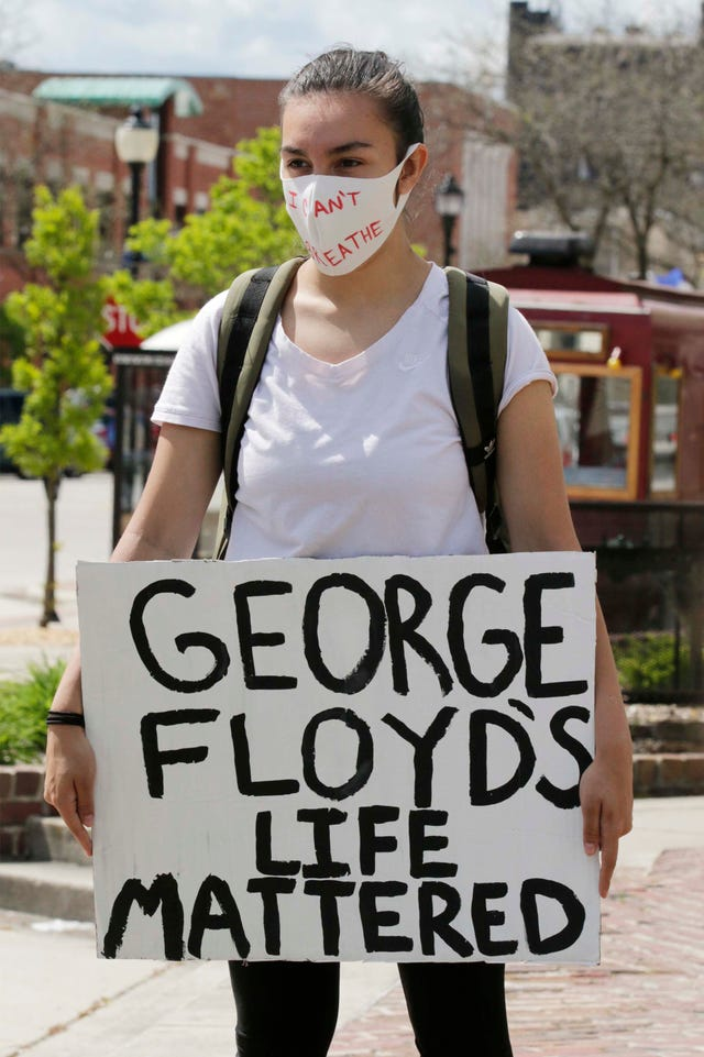 Sheboygan Halloween 2020 George Floyd death: Sheboygan assembles at Fountain Park to protest