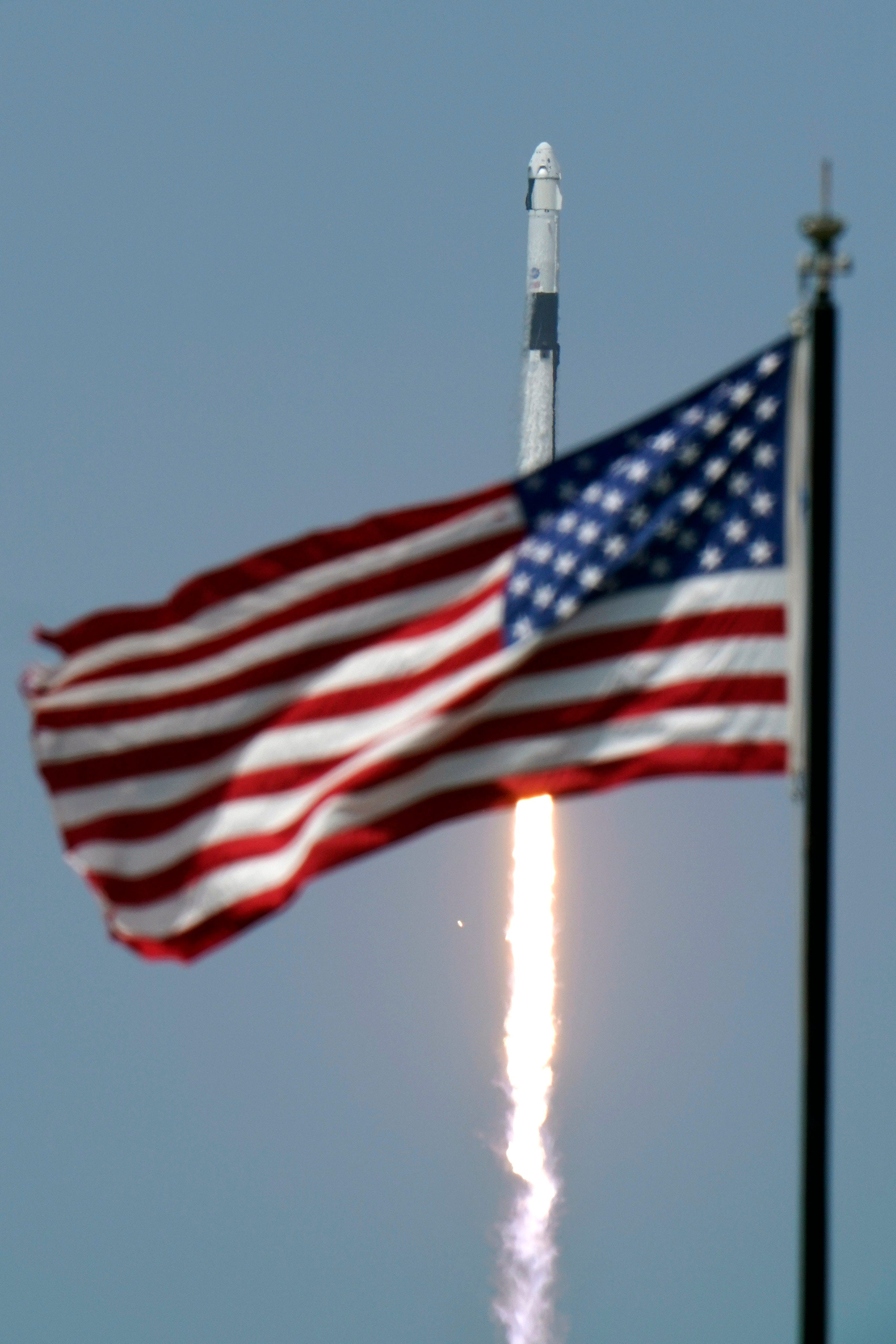 Nasa Spacex Make History By Launching Americans With Crew Dragon