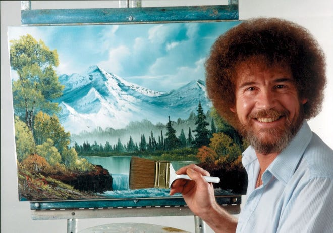 Bob Ross was one of the pioneers of the how-to movement.