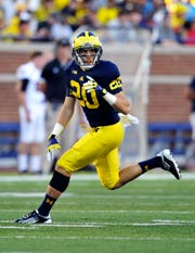 Steve Wilson finally got into a game as a fifth-year senior defensive back against UMass in 2012.