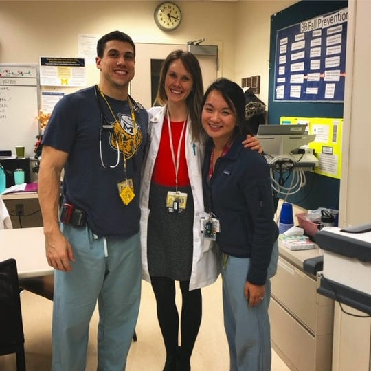 Steve Wilson is in his third year of a four-year combined internal medicine and pediatrics program at the University of Michigan Medical Center.