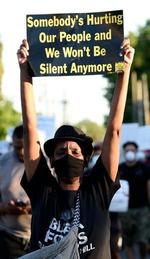 Curbing black violence means stopping police brutality | Tonya ...