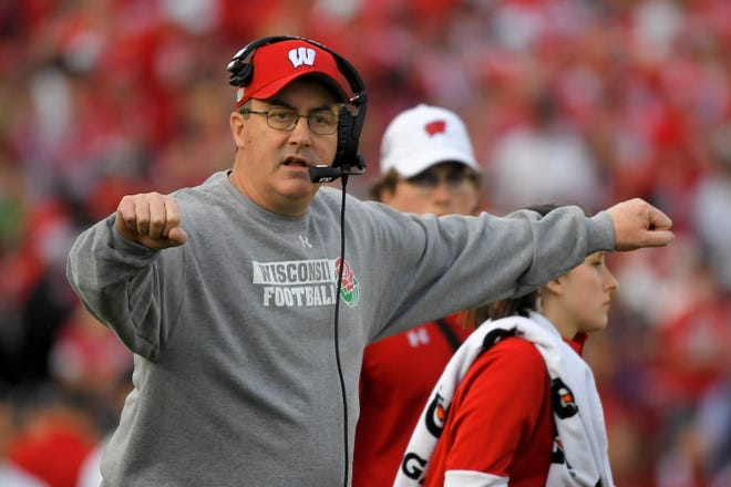 Coach Paul Chryst and the Badgers still expect to play their game against Notre Dame at Lambeau Field this season.