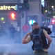 Reno Police fired tear gas at protesters after a largely peaceful demonstration in honor of George Floyd turned violent in the evening.