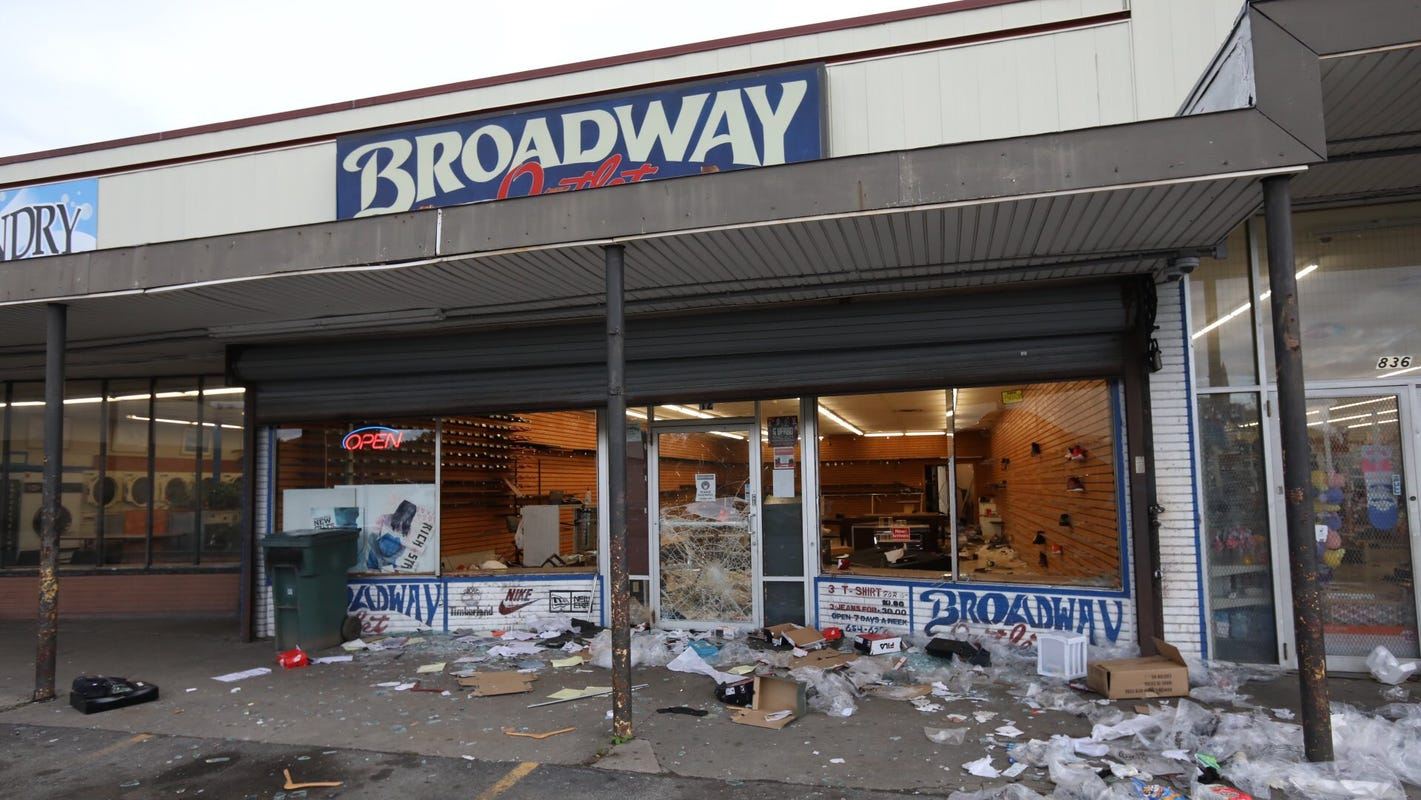 A night of vandalism and looting in Rochester: What we know this morning