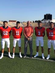 San Angelo Central assistant football coach Larry Hoelscher announced Sunday, May 31, on Twitter that he was stepping away from coaching after 21 years. He will continue to teach at Central High School.