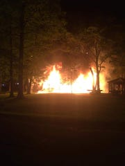 Recreation Park was set on fire late in the evening on May 31, 2020.