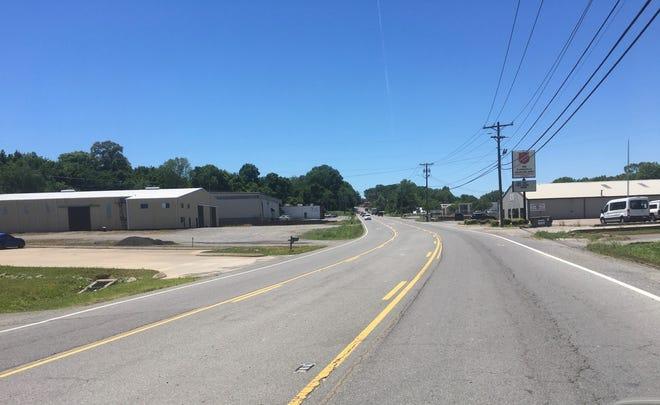 Kraft Street in Clarksville