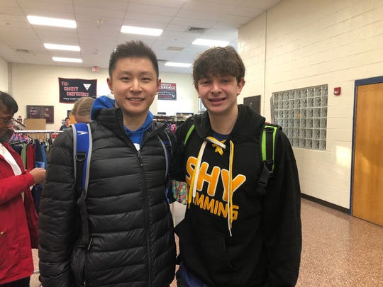 Andy Moss (left) and Jerry Zheng (right) of the Basking Ridge section of Bernards need — literally — to get back in the swim of things. Competitive swimmers, thetwo RidgeHigh School sophomoresstarted a petitionwhich has garnered more than 15,000 signatures asking Governor Phil Murphy to reopen pools for competitive swimmers to practice.