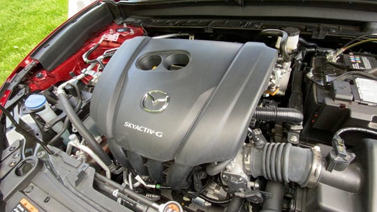The CX-30 has a 186-hp 2.5L four-cylinder engine