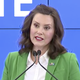 Gov. Gretchen Whitmer speaks on Monday, June 1.