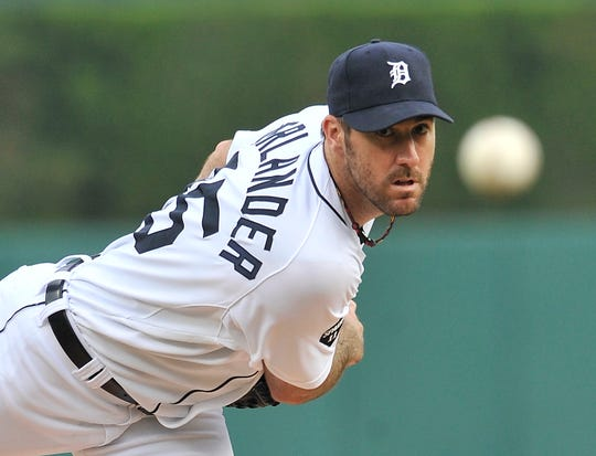 Justin Verlander won the American League Most Valuable Player and Cy Young awards in 2011.