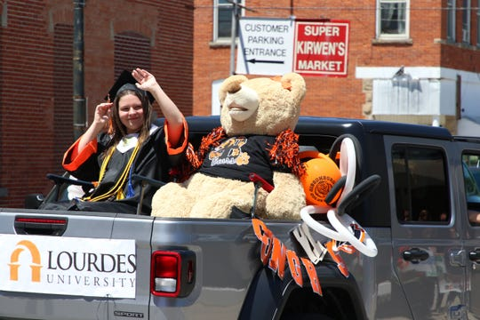 Gibsonburg's 2020 Seniors were honored with a parade through town on May 31, 2020.