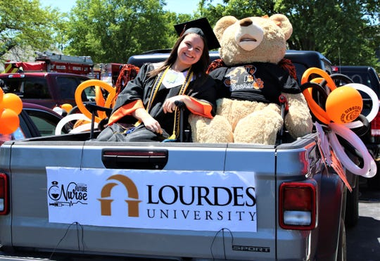 Gibsonburg's 2020 Seniors were honored with a parade through town on May 31.