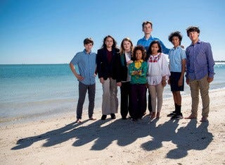 Ranging in age from 12 to 22, the young people are part of an Our Children's Trust climate change lawsuit against the Governor, the Secretary of the Florida Department of Environmental Protection, the Commissioner of the Department of Agriculture and Consumer Services, the Public Service Commission, and the Florida Board of Trustees of Internal Improvement Trust Fund.
