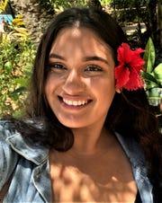 Alyssa Gordon, a senior at the University of Guam, is the recipient of the UOG Sociology Program's I Kannai Gi Tano' (Hand in the Land) Sociology Award.