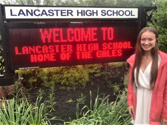 Lancaster High School senior Sarah Hoffman-Weitsman plans to major in biochemistry and minor in health studies at Knox College in Galesburg, Illinois.