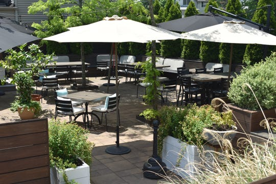 Lefkes in Englewood Cliffs is all prepped for outdoor dining