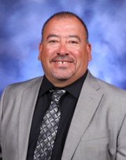 Xavier Avalos, a security guard at Mesa Middle School, was honored as the 2021 Educational Support Personnel of the Year in a virtual ceremony on May 27.