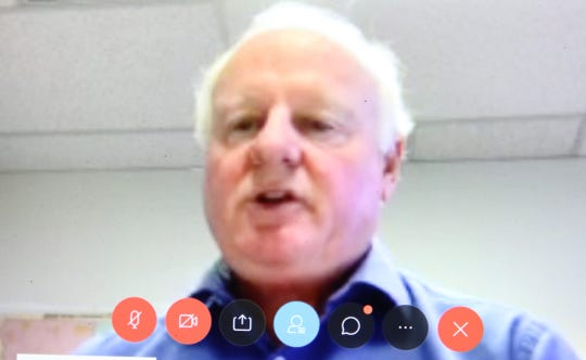 Dennis Johnson, deputy regional director for the U.S. Census Bureau's Denver-Dallas region, speaks during a virtual roundtable meeting May 27, 2020.