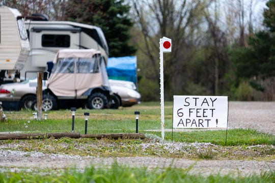 Moose Lake Campground in Marysville is now open to campers, but things are different this year with the coronavirus pandemic.