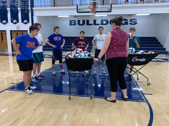 The West York boys' volleyball team didn't have a head coach for the 2020 season until Brittnie Silk and Gabby Hamilton were hired in February.