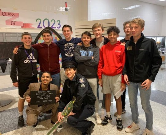 The West York boys' volleyball team was hoping to continue improving after a 10-10 season in 2019.