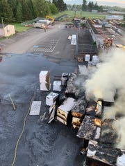 A fire intentionally set at Waldo Middle School caused $250,000 in damage on April 29, 2020.