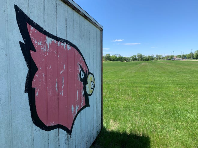 Officials at St. Mary are hoping to turn the current practice facility on Garfield Avenue into its permanent football field in the future.