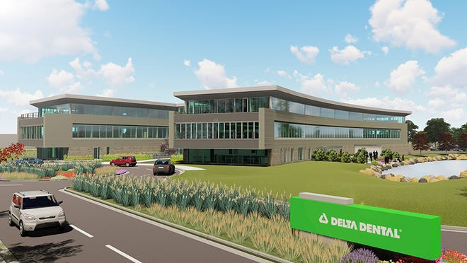 Plans for Delta Dental's new headquarters at 3100 Buisness Park Drive in Stevens Point