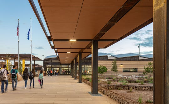 The design of the Columbus port of entry has won national and state recognition.