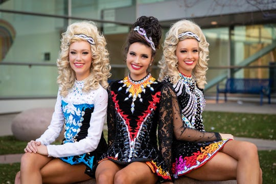 Triplets Pifer, Gillian and Kathleen Dryden of Oak Park High have divided their time between school, lacrosse and Irish Dance over the past decade.
