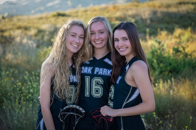 Triplets Pifer, Kathleen and Gillian Dryden had their sisters to lean on as their senior lacrosse season at Oak Park High came to an early ending due to COVID-19.