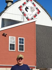 """Dwight, """"Ike"""" Mayer is the sixth generation to operate his family's farm at Slinger."""