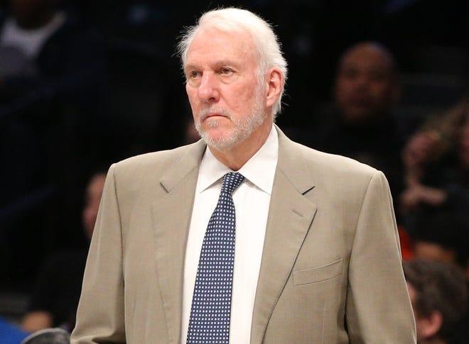 San Antonio Spurs head coach Gregg Popovich was critical of President Trump.
