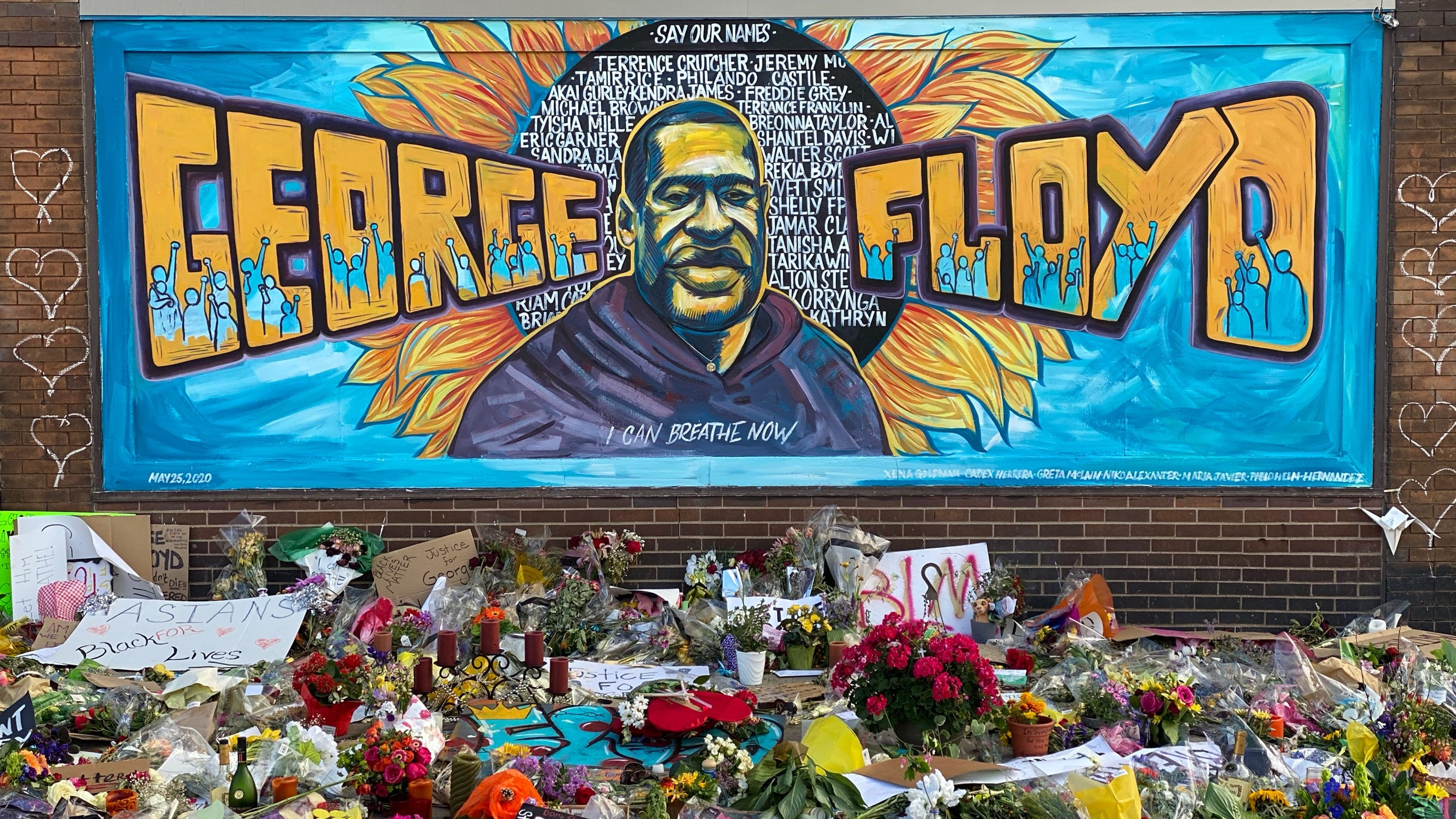 Stretch of Minneapolis Street Where George Floyd Died to be Named in His Honor