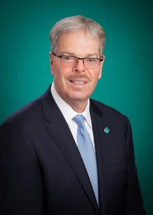 Thomas J. Shara, Chairman of NJ Bankers Association board.