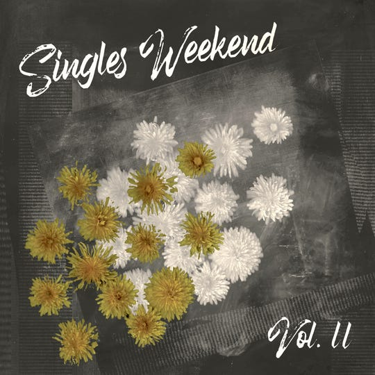 """""""Singles Weekend Vol. II,"""" compiled by Burlington musician Eric George, features performances by Vermont musicians including Hayley Jane, Ivamae and Laura Heaberlin of Cricket Blue."""
