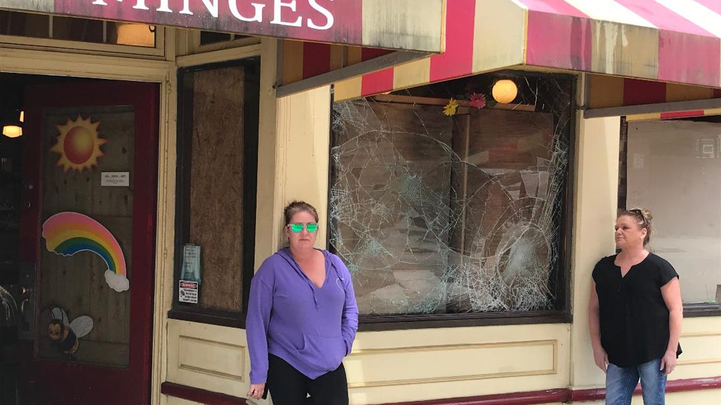 'Now this.' Coronavirus, protests, then vandalism. Stores in Cincinnati's Over-the-Rhine and downtown assess damage.