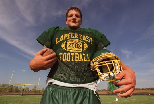 Jake Long was a star offensive tackle/defensive end at Lapeer East.