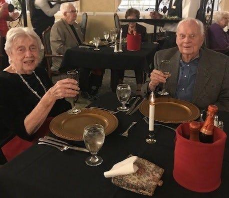 David and Mary Beth Stitt on Valentine Day 2020