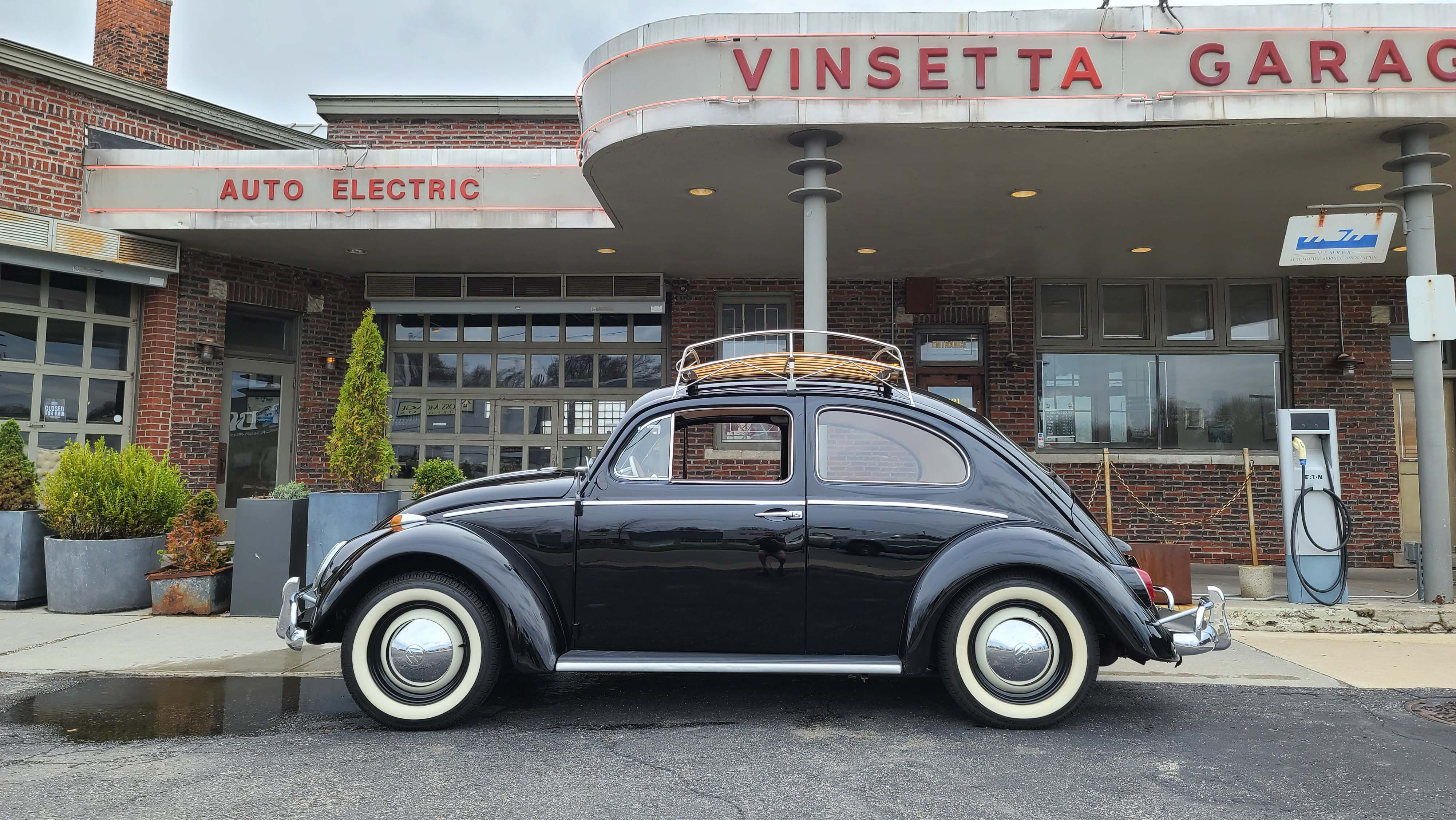 Turning Back The Clock In A 64 Vw Beetle