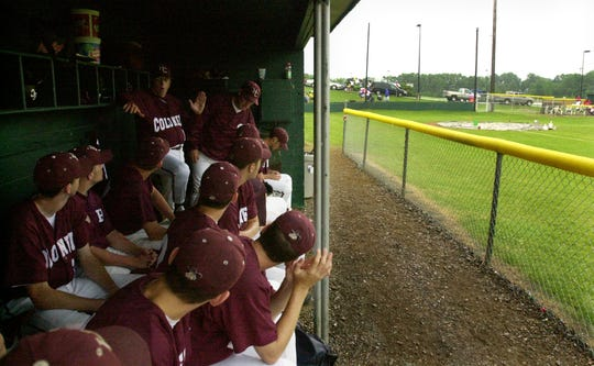 The 2002 Second Region Tournament game between Henderson County and Christian County at Union County High School was delayed by rain.