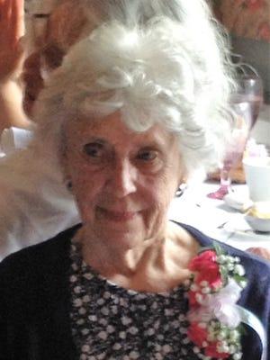 Marie Hatch on her 90th birthday
