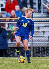 Hartland senior Mary Storm made first-team all-county in soccer in 2019.