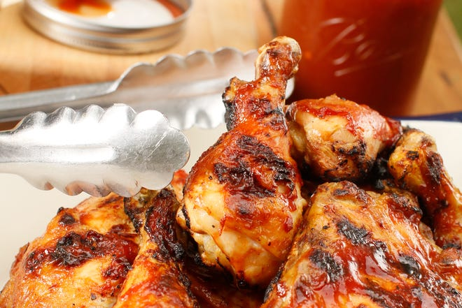 Barbecue chicken is a grill classic that's easy to prepare.
